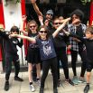 London Bayswater's St James & St John's Primary School kids with Isaac at the Craven Road street festival 2018